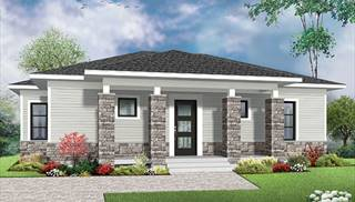 Split Level House Plans   Home Designs   The House Designers image of NOYO 2 House Plan