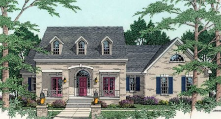 Cape Cod Home Plans  Floor Designs    Styled House Plans by THD Cape Cod House and Home Plans