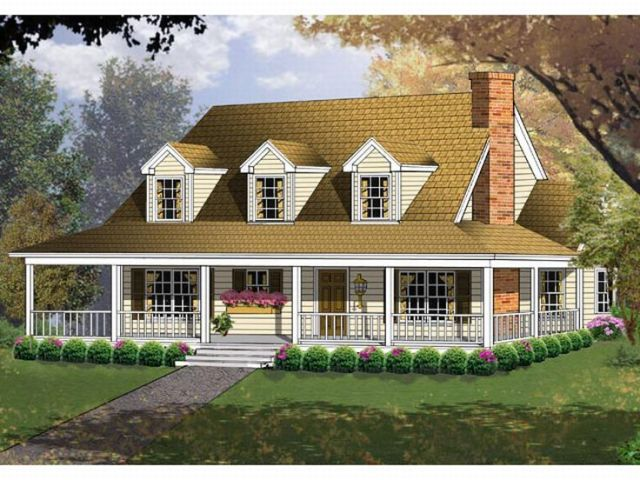 Plan 015H 0009   Find Unique House Plans  Home Plans and Floor Plans     Country House Plan  015H 0009