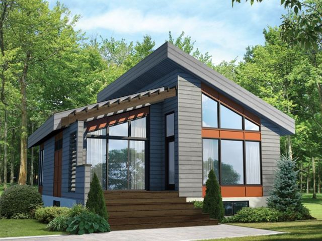 Plan 072H 0198   Find Unique House Plans  Home Plans and Floor Plans     Modern Vacation Home  072H 0198