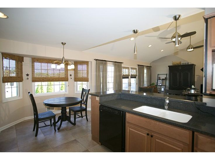 Kitchen Floor Plans Breakfast Nook