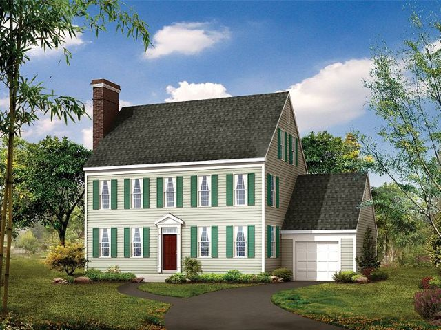 Plan 057H 0003   Find Unique House Plans  Home Plans and Floor Plans     Colonial House Plan  057H 0003