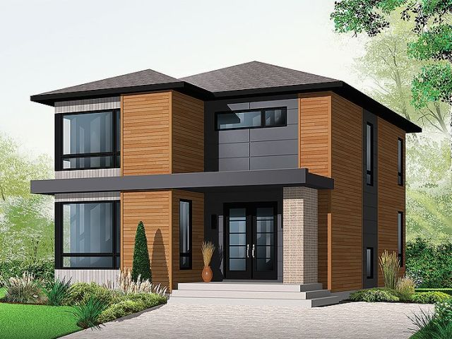 Plan 027H 0280   Find Unique House Plans  Home Plans and Floor Plans     Modern Home Design  027H 0280