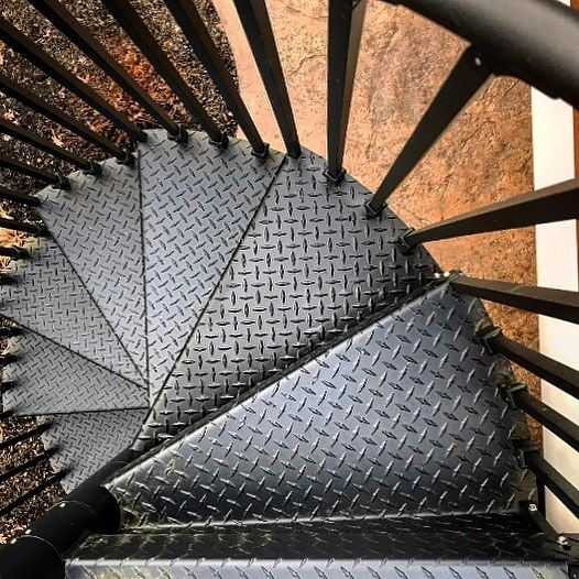 Diy Spiral Staircase As Low As 690 The Iron Shop Spiral Stairs | Iron Shop Spiral Stairs | Attic Loft | Victorian | Loft Staircase | Elk Grove | Staircase Kits