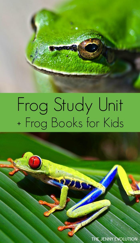 Frog Books for Kids | The Jenny Evolution