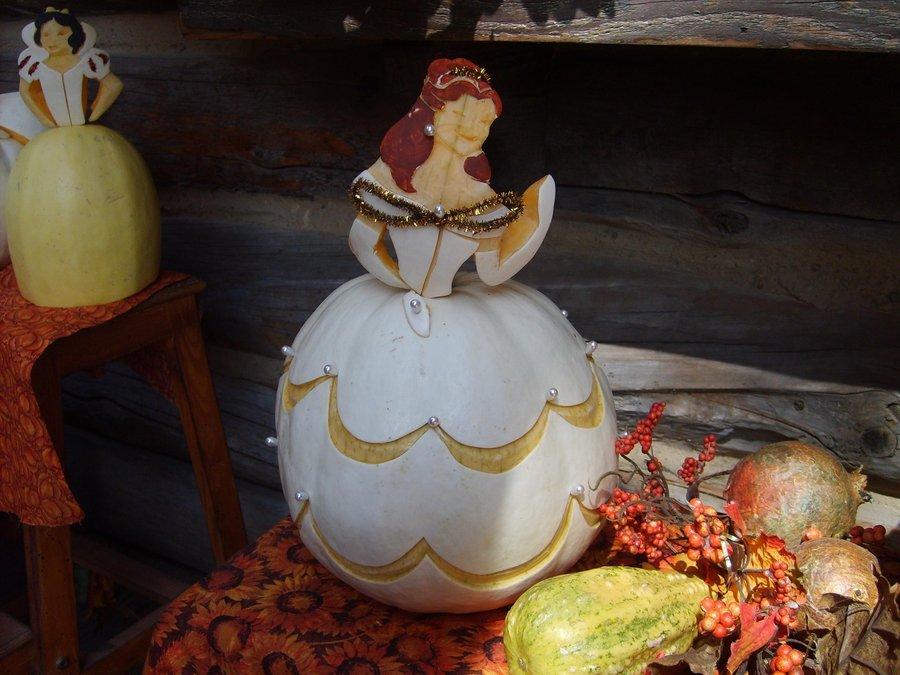 Beauty And Beast Halloween Pumpkins