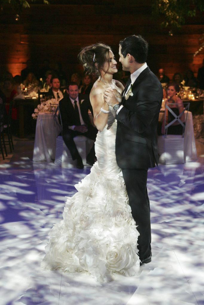Molly Mesnick Relives Her Wedding Day On Anniversary Photos