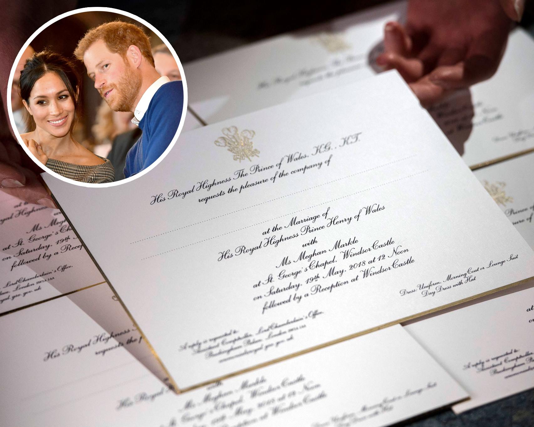 Royal Wedding Invitation