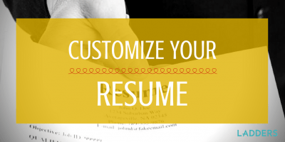 A Sales Resume Seals the Deal   Ladders Customize Your Resume for That Plum Job