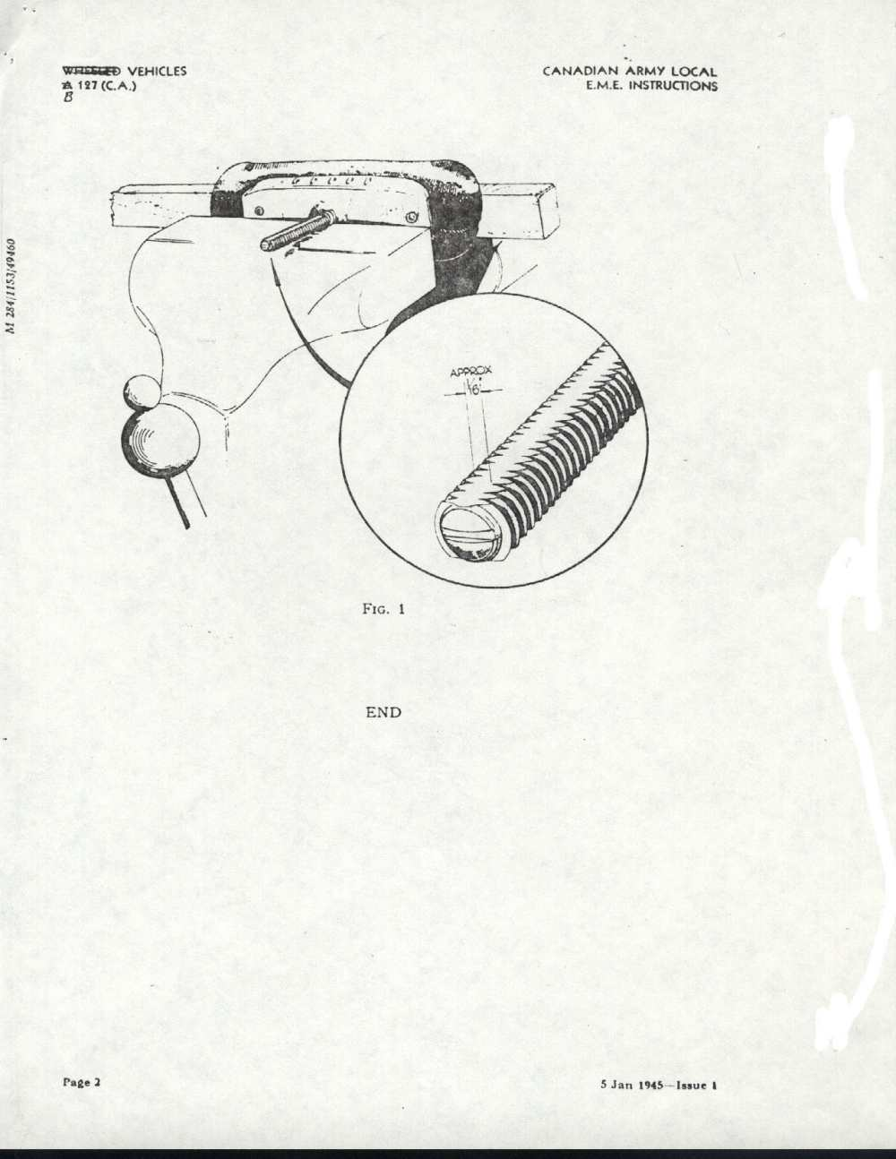 'modification instruction n°6' installation of spring rod spacer plate 'modification instruction n°7' throttle spark hand clutch and hand brake