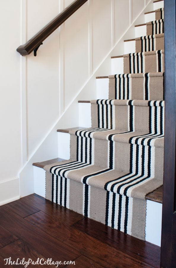 Stairway Makeover Swapping Carpet For Laminate The Lilypad Cottage | Stapling Carpet To Stairs | Electric Stapler | Flooring | Stair Tread | Landing | Stair Runner