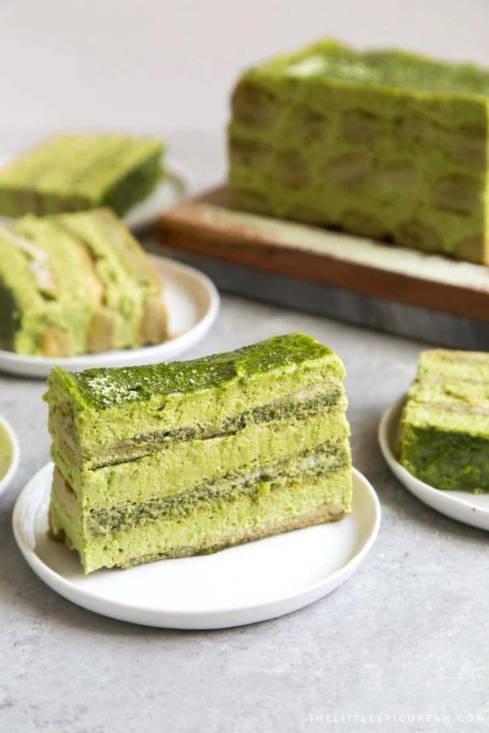 Matcha Tiramisu The Little Epicurean