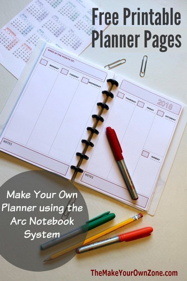 Your Planner Make Pages Own How