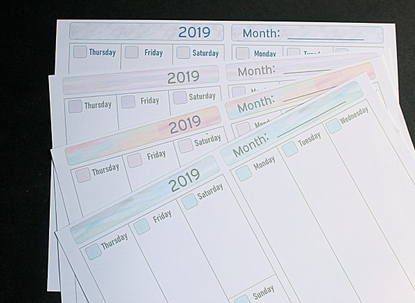 Diy Yearly Planner