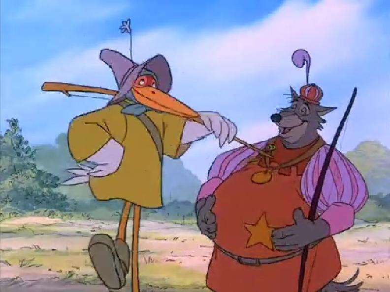 Disney Disguise Hood Robin Cartoon