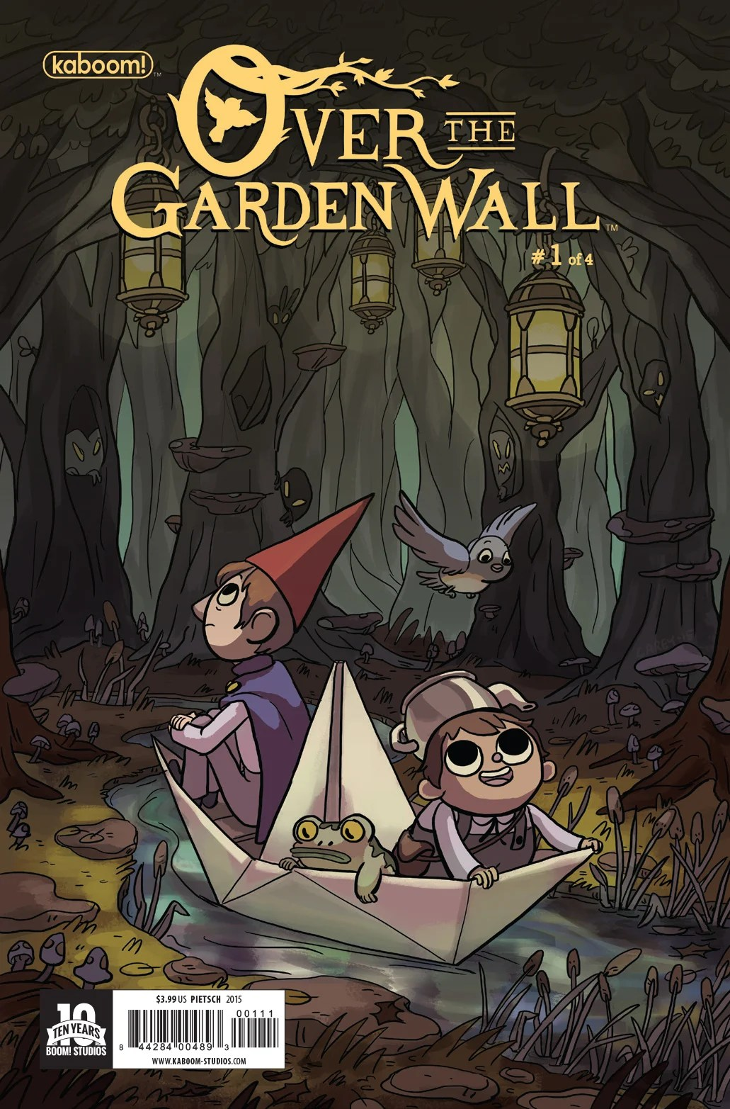 Over the Garden Wall Preview First Issue | The Mary Sue