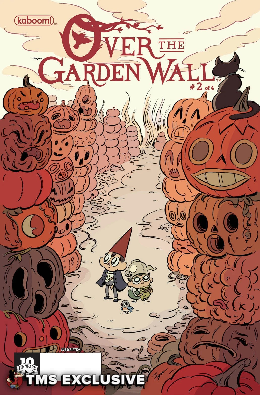 The Mary Sue Exclusive Preview: Over the Garden Wall #2 ...
