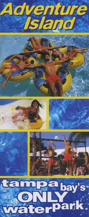 Theme Park Brochures Adventure Island - Theme Park Brochures