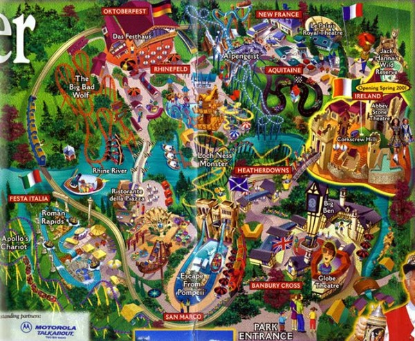 Busch Gardens VA Map Travel Around The World Vacation Reviews Busch Gardens  VA Map Beautiful Map Of Williamsburg Va For Campground Mar Map Of Beautiful  Map ...