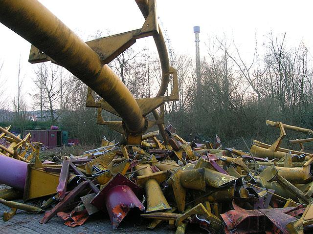 Walibi Belgium Tornado