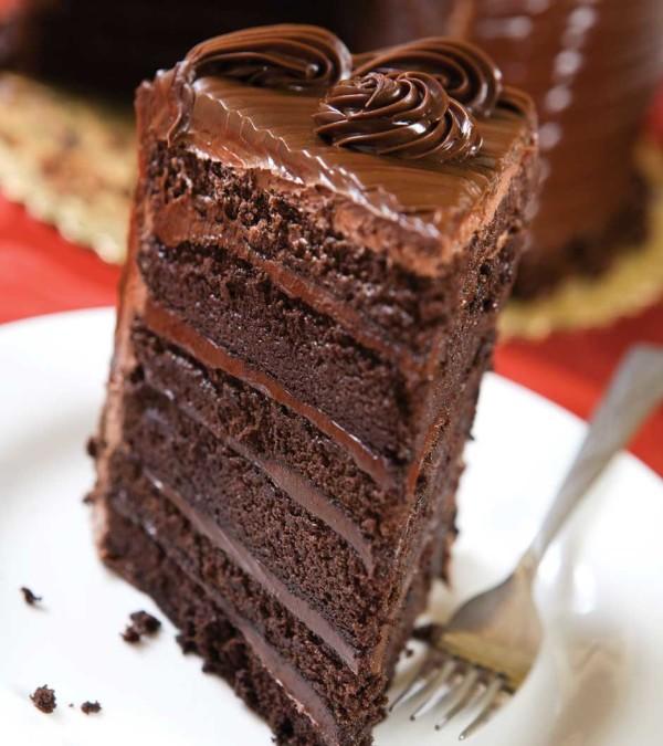 Three Layer Chocolate Mousse Cake Recipe