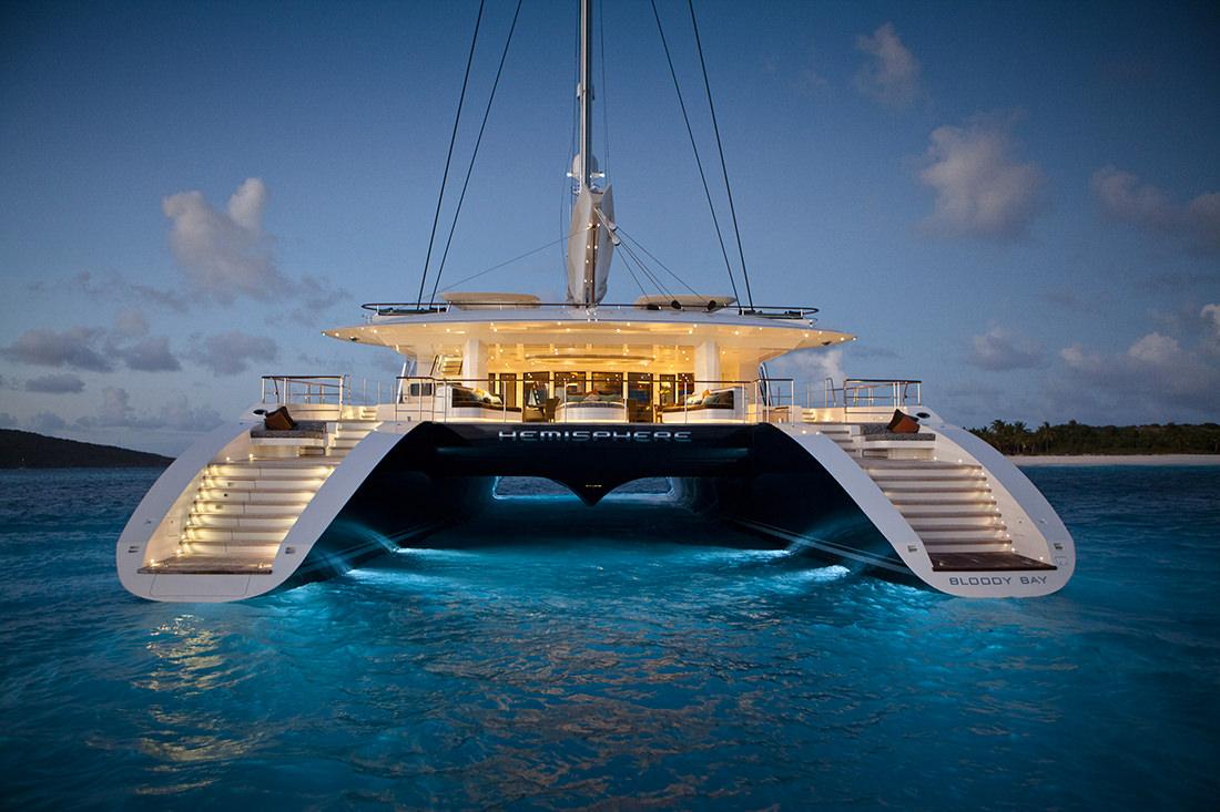 Largest Catamaran Yacht