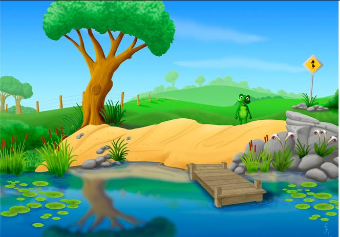 Pond Design Layout