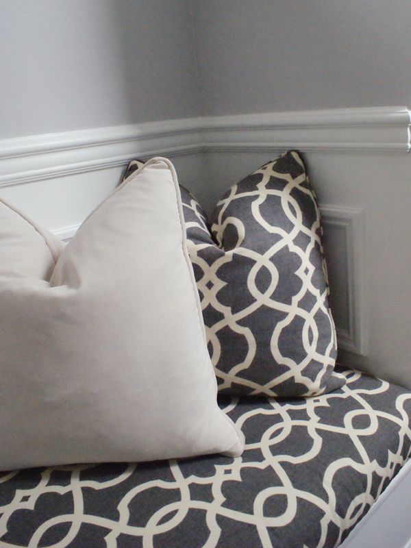 How To Build A No Sew Bench Cushion The Minted Mama