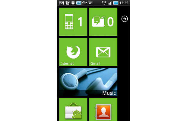 Want Windows Phone style live tiles on Android?