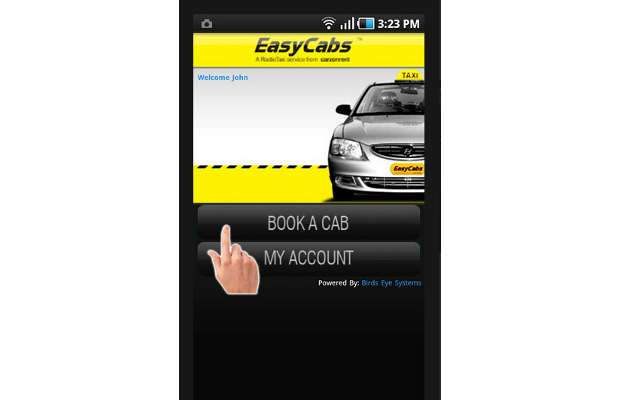 Now track your booked EasyCabs through mobile