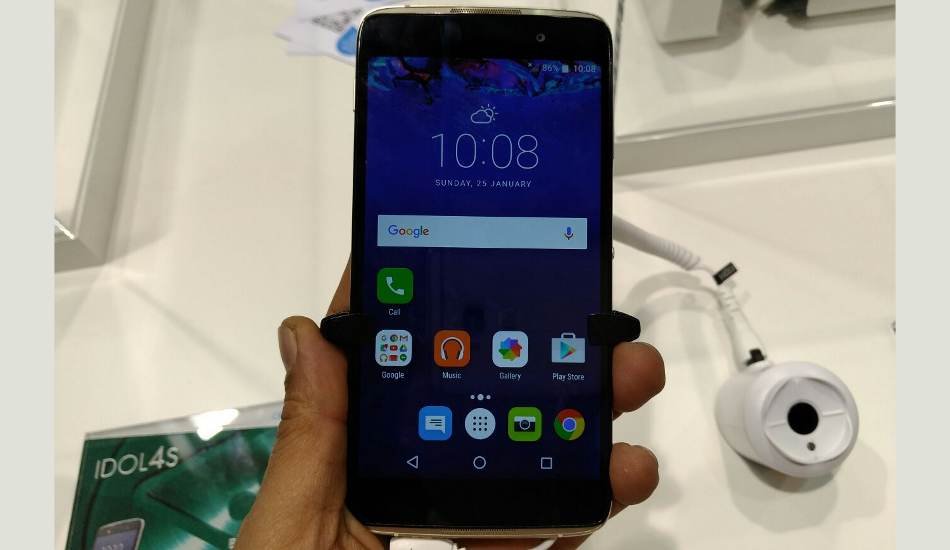 Alcatel Idol 4 First Impression: Very late entry in the Indian market
