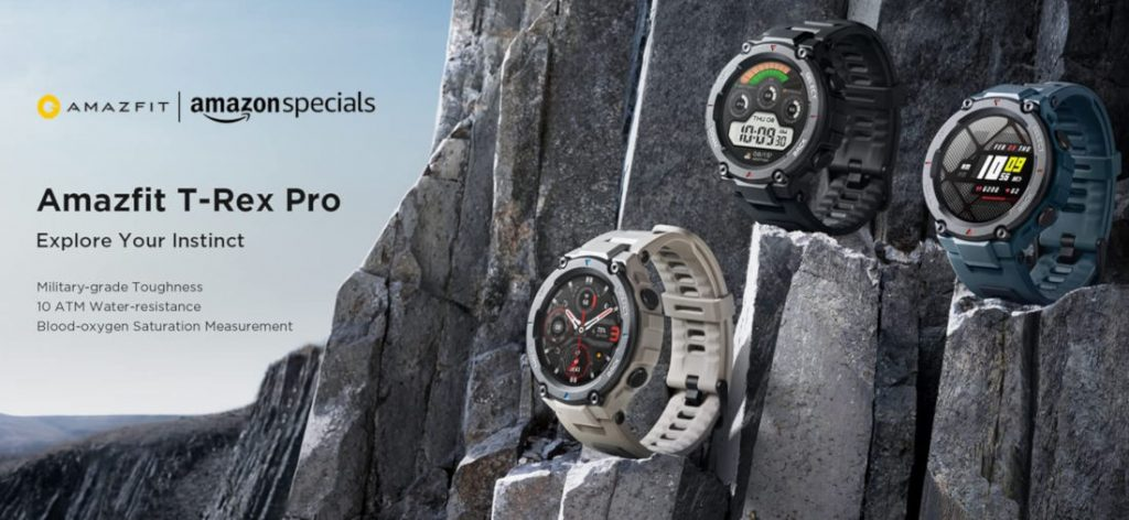 Amazfit T-Rex Pro rugged smartwatch launched in India