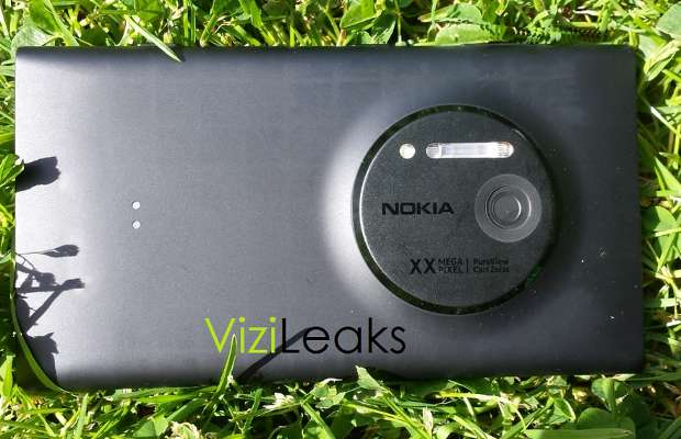 Images of Nokia EOS with large camera sensor surface online
