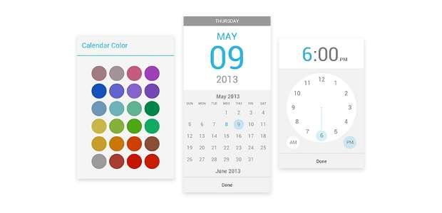 Google Play Music, Google Calendar apps updated