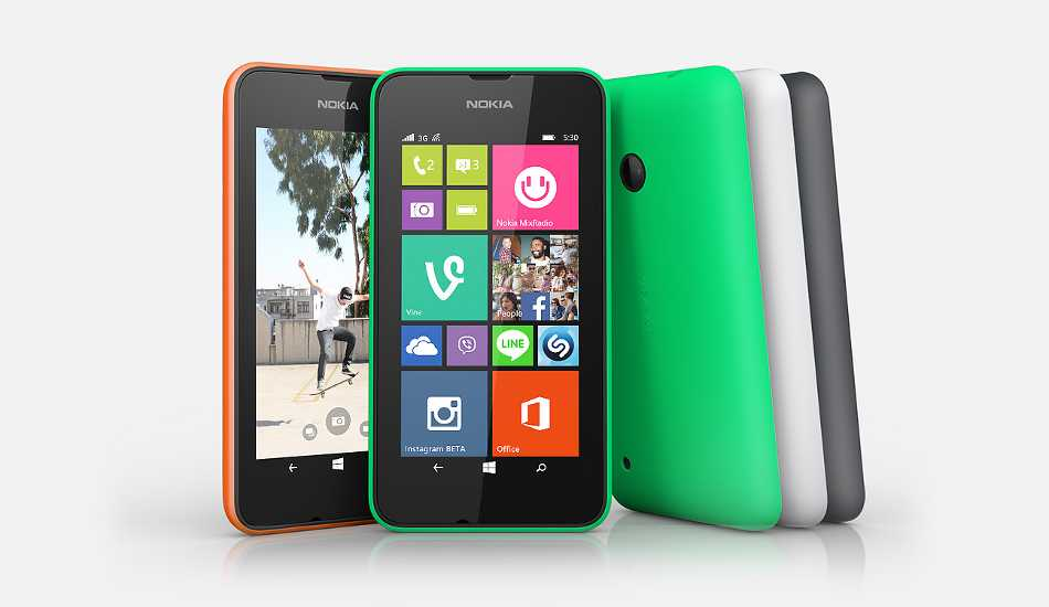 Nokia Lumia 530 Dual SIM now available for Rs 7,349