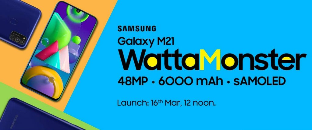Samsung Galaxy M21 Prime Edition will be called Galaxy M21 2021
