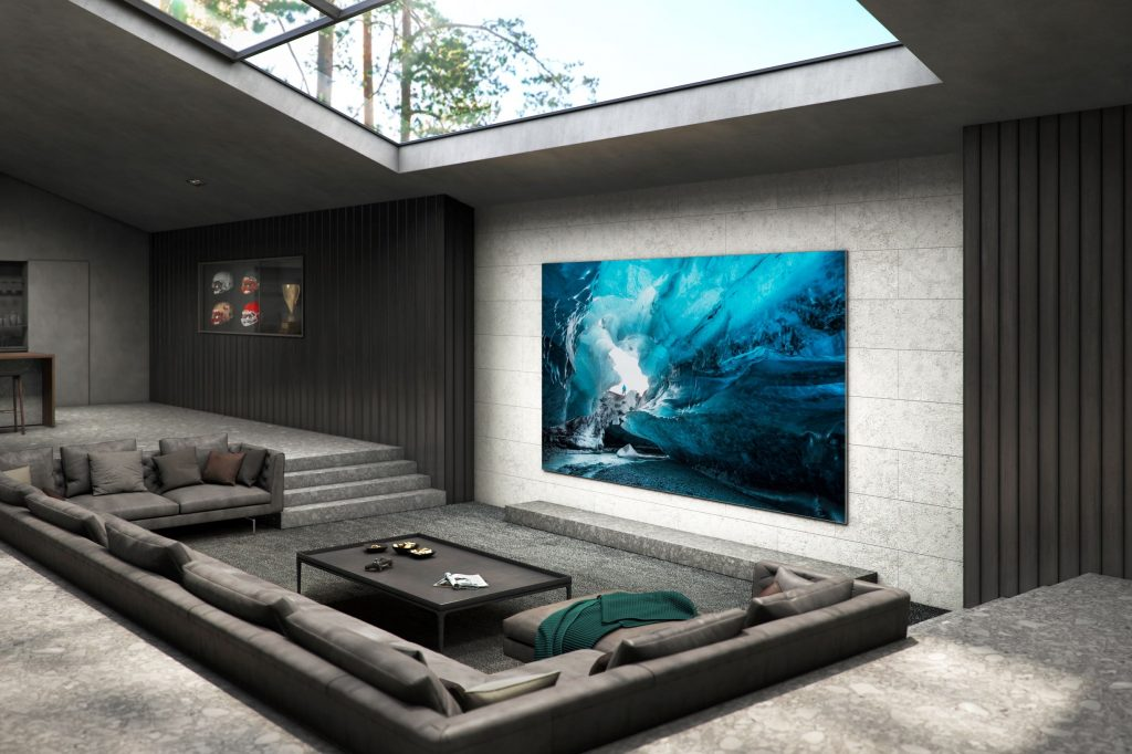 Samsung launches 110-inch MicroLED TV
