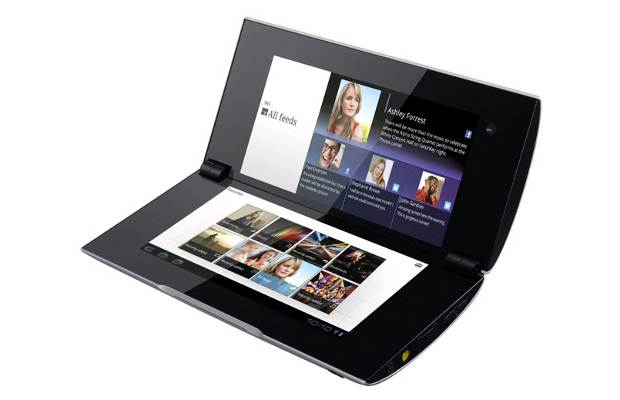 Sony's Tablet P gets Android ICS upgrade
