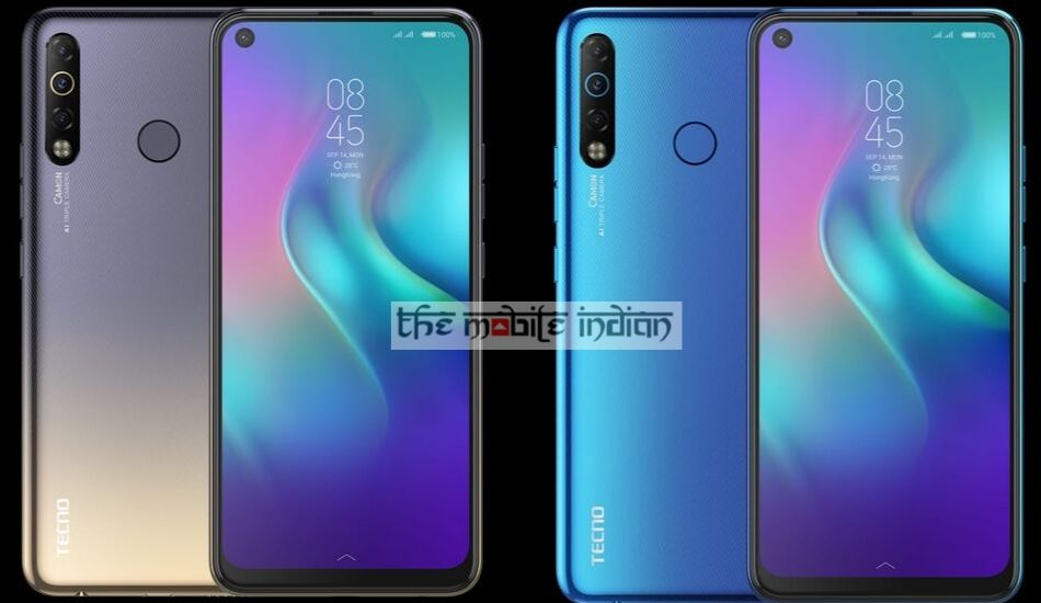 Tecno Camon 12 Air with dot notch display launched in India for Rs 9,999