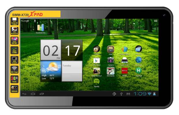 Simmtronics launches 7 inch tablet for Rs 4,600