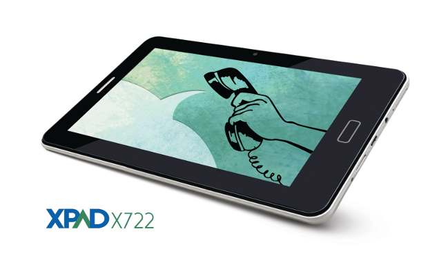Simmtronics XPAD X-722 calling tablet launched for Rs 5,999