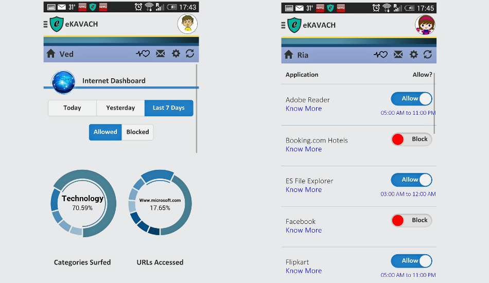 eKAVACH parental control app launched for Android; iOS version coming soon