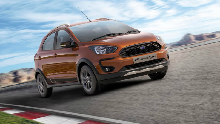 Ford Freestyle to launch in India on April 26