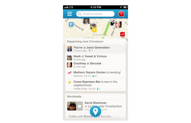Foursquare 6.0 coming with better interface: Report