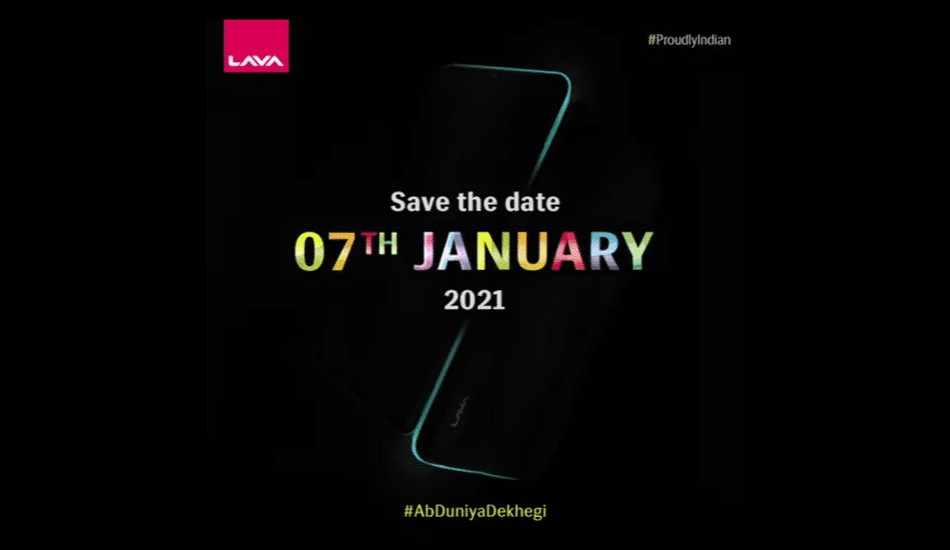 Lava to launch a new smartphone on 7th January, 2021