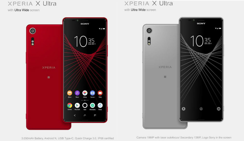 Sony Xperia X Ultra to feature 6.4-inch Full HD ultra-wide screen with 21:9 aspect ratio: Report