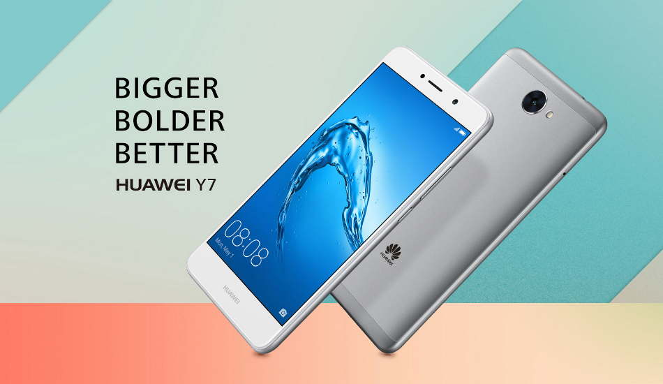 Huawei Y7 launched with Snapdragon 435 and 4,000 mAh battery