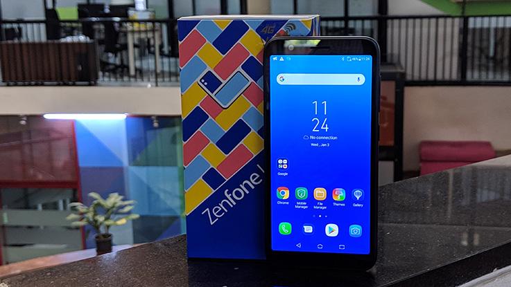 Asus Zenfone Lite L1 in Pictures