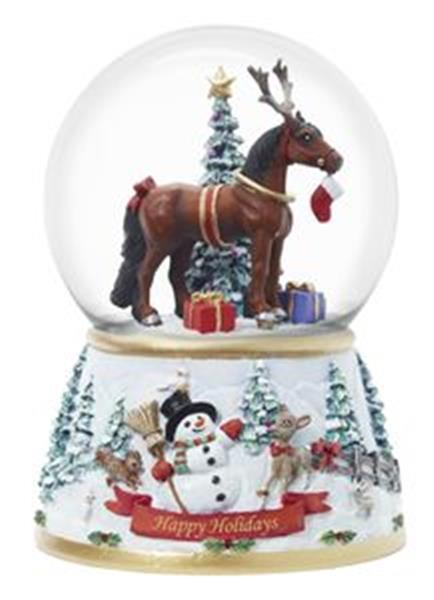 Breyer Snow Globe 2013 Christmas