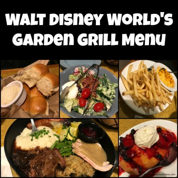 Lunch Garden Grill Epcot